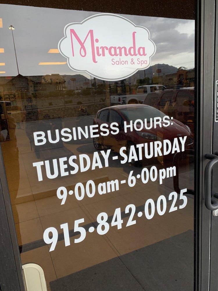 Miranda Salon & Spa: 7411 Remcon Cir, El Paso, TX