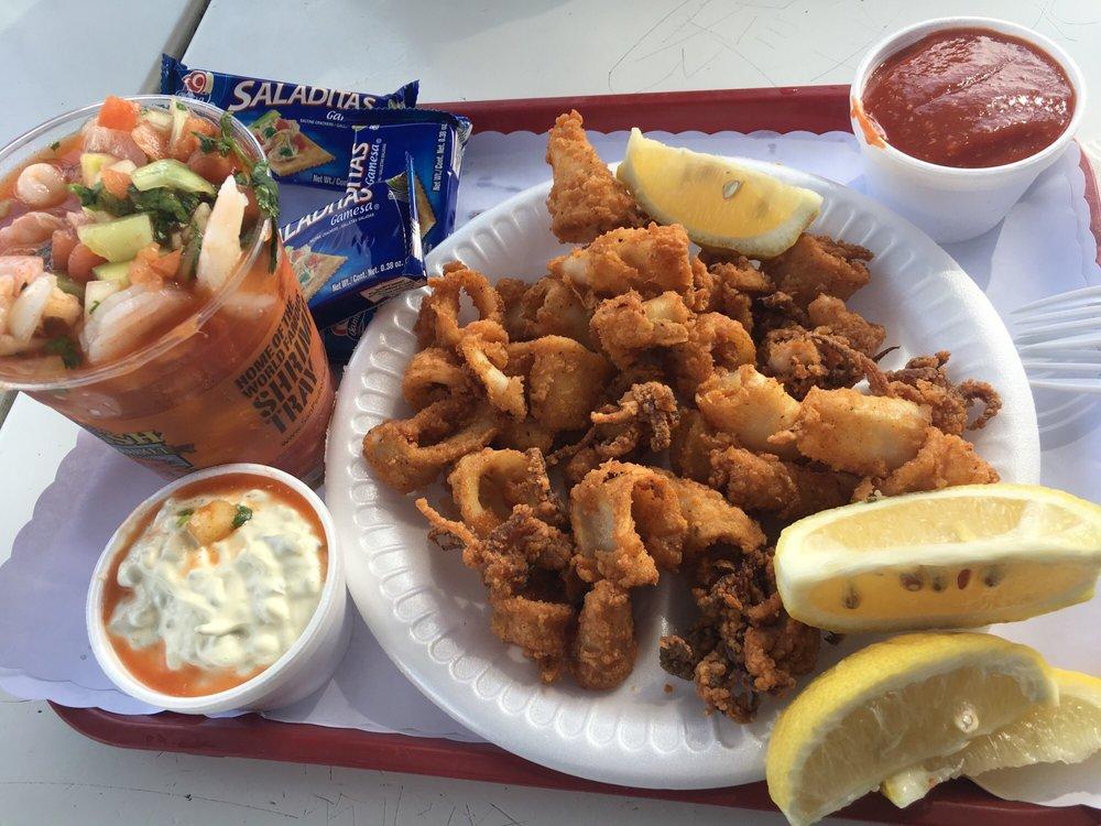 Calamari shrimp cocktail yelp for San pedro fish market and restaurant