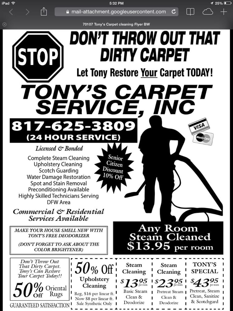 carpet cleaning advertising flyers