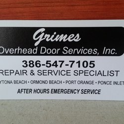Photo Of Grimes Overhead Door Services   Daytona Beach, FL, United States