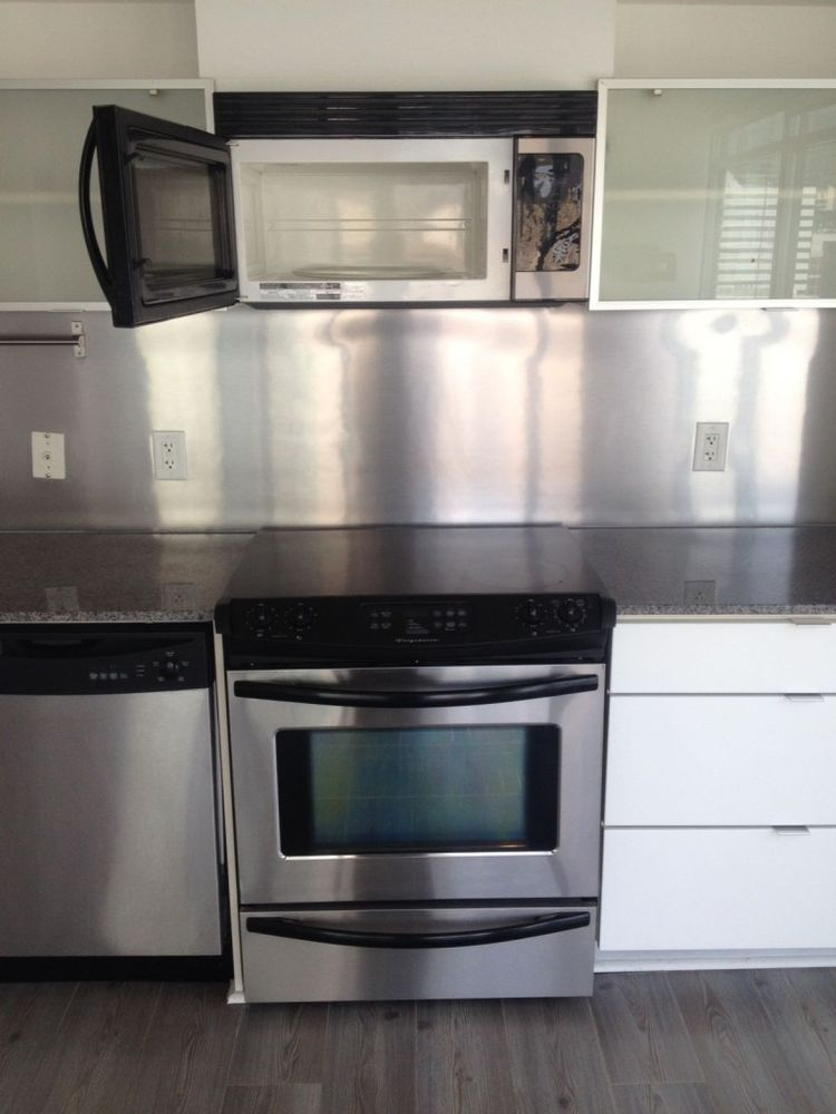 We clean small and large kitchen appliances, inside and outside ...