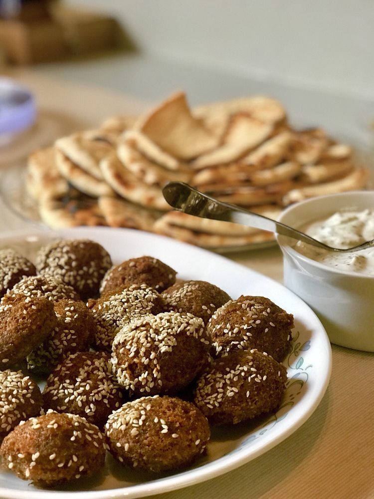 Food from Simply Falafel