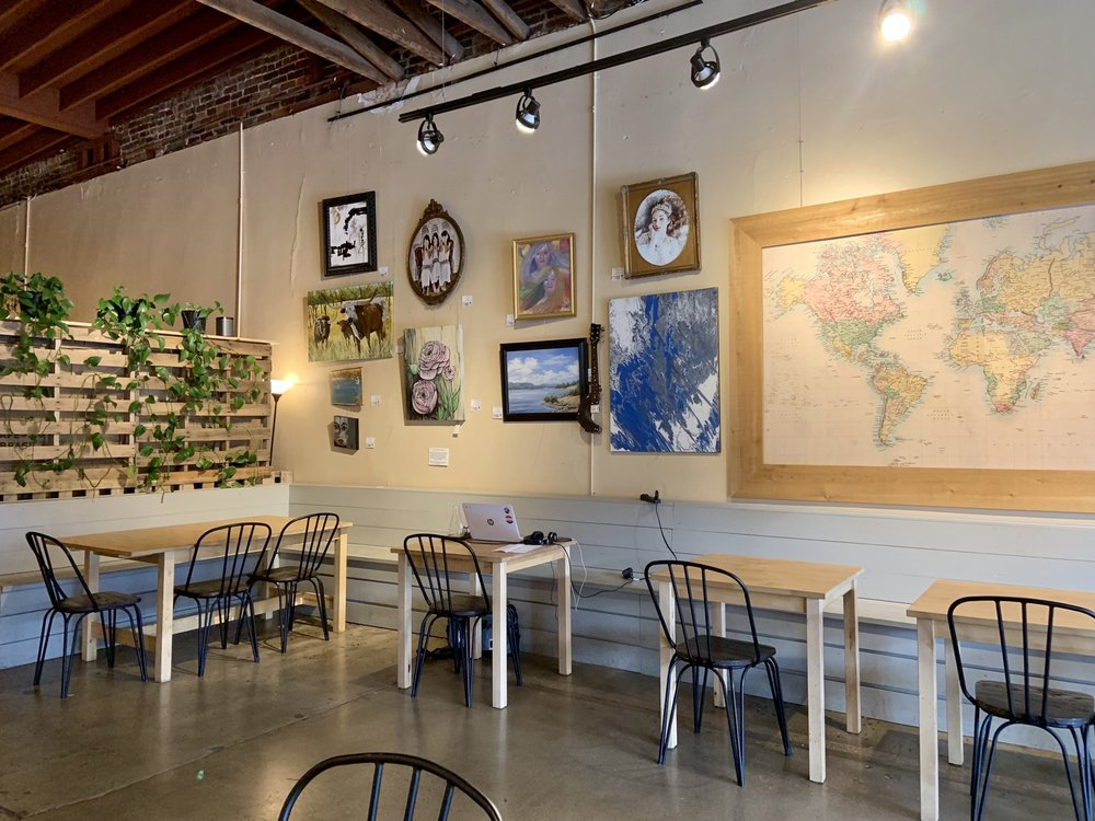 Blue Sail Coffee: 1028 Front St, Conway, AR