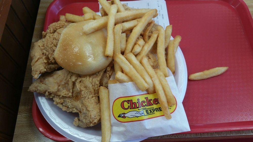 Chicken Express: 909 N Interstate 27, Plainview, TX