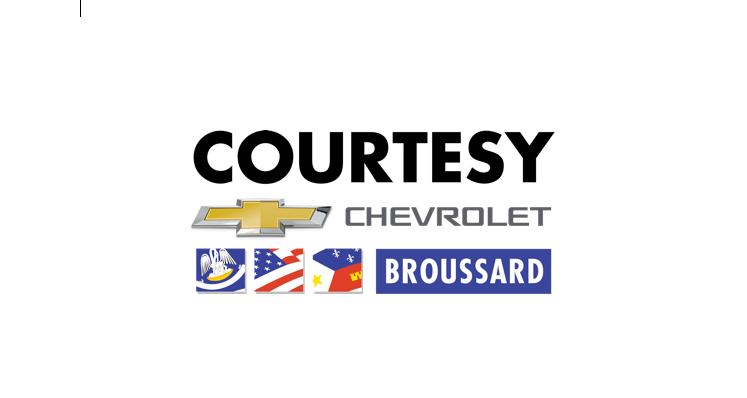 Courtesy Chevrolet Cadillac: 1345 Evangeline Thruway, Broussard, LA