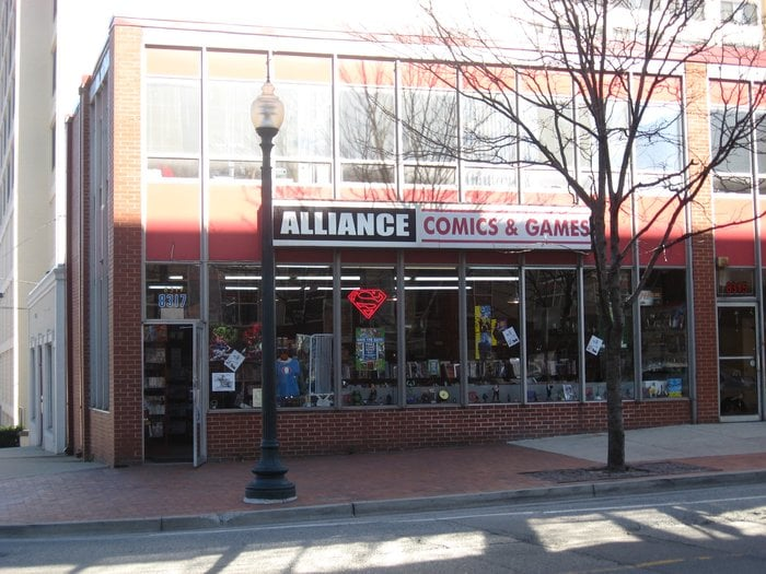 Alliance Comics: 8317 Fenton St, Silver Spring, MD
