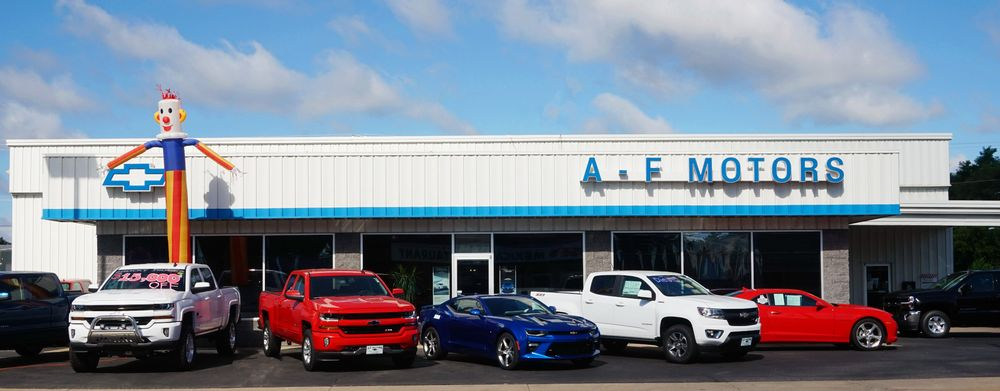 A-F Motors: 201 S Main St, Adams, WI