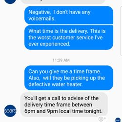 sear customer relations