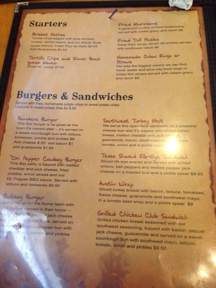 Brick S River Cafe Bandera Tx