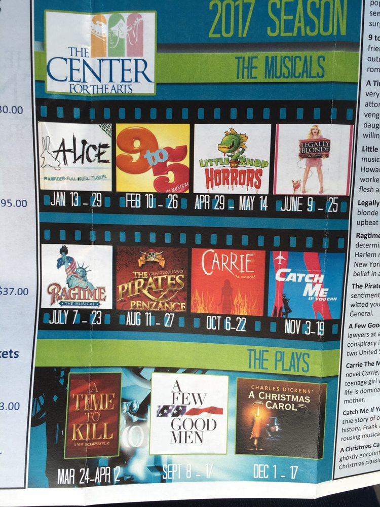 Center For the Arts: 110 W College St, Murfreesboro, TN