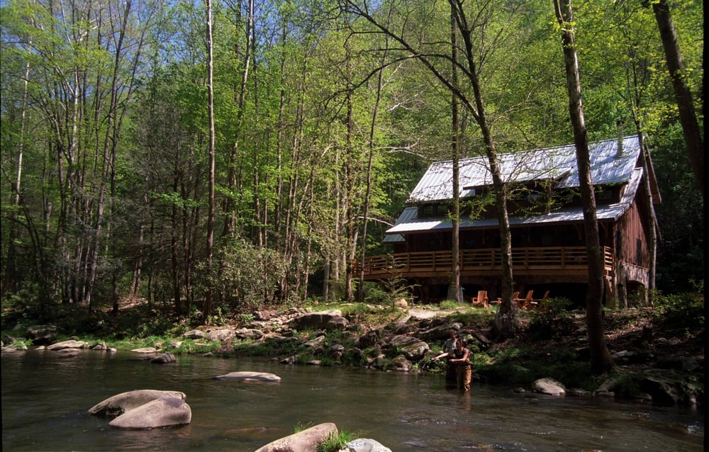 The nantahala river is a trout unlimited top 100 rated for Best trout fishing in nc