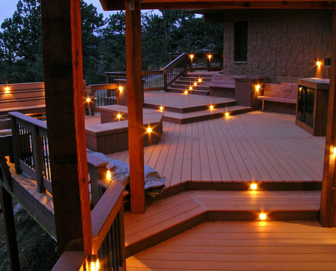 Photo of highpoint deck lighting golden co united states