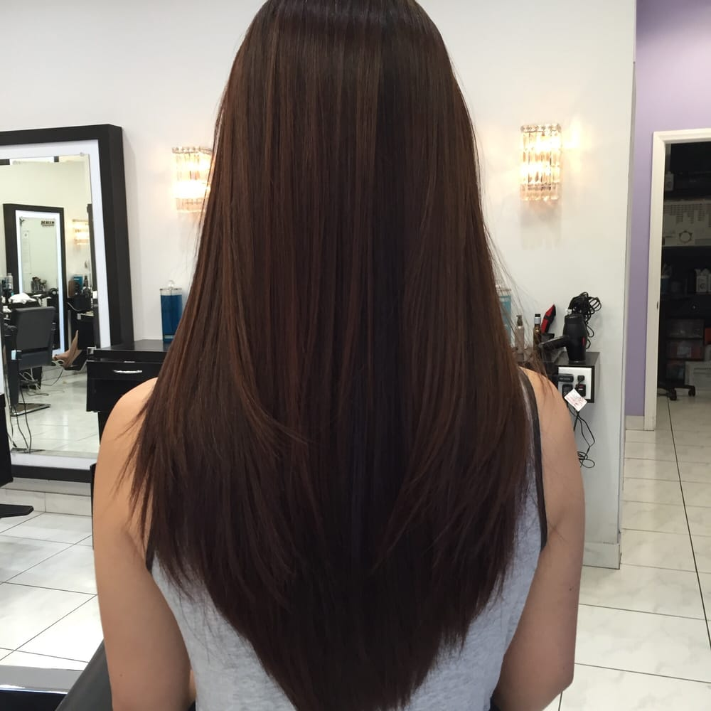 Straight perm didnt work - Photo Of Amazing Hair Design Westminster Ca United States Natural Straight