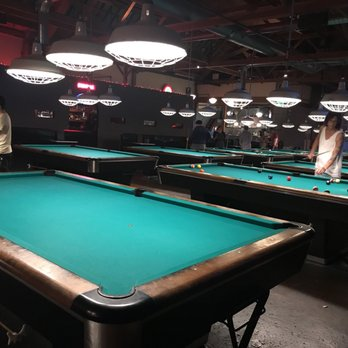 Garage Photos Reviews Pool Halls Broadway - Pool table in garage