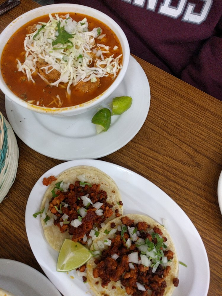 Food from Lopez Tacos