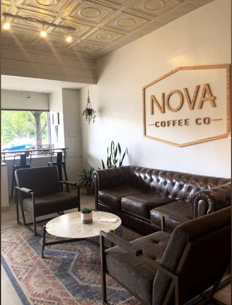 Nova Coffee Co: 112 N Park Ave, Warren, OH