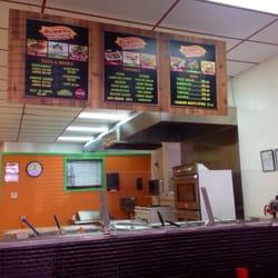 Photo Of Burrito California Menomonie Wi United States Counter And Menu