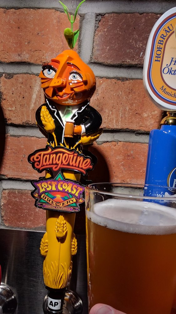 Tangerine Wheat Brew By Lost Coast Brewing At World Of
