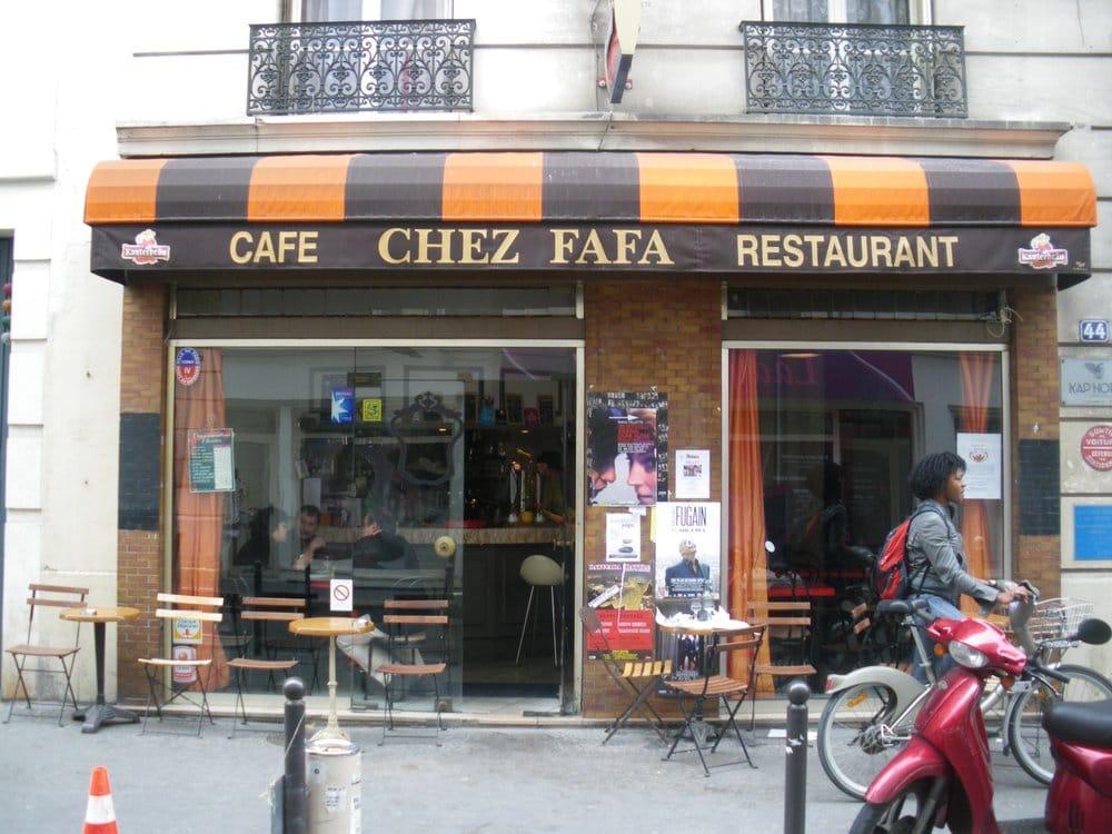 Chez fafa closed french 44 rue des vinaigriers canal st martin gare de l 39 est paris - Restaurant rue des vinaigriers ...