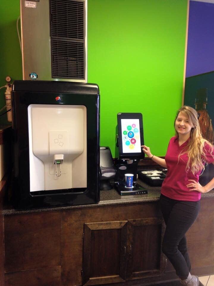 The new pepsi spire machine yelp for Jordan s fish and chicken menu