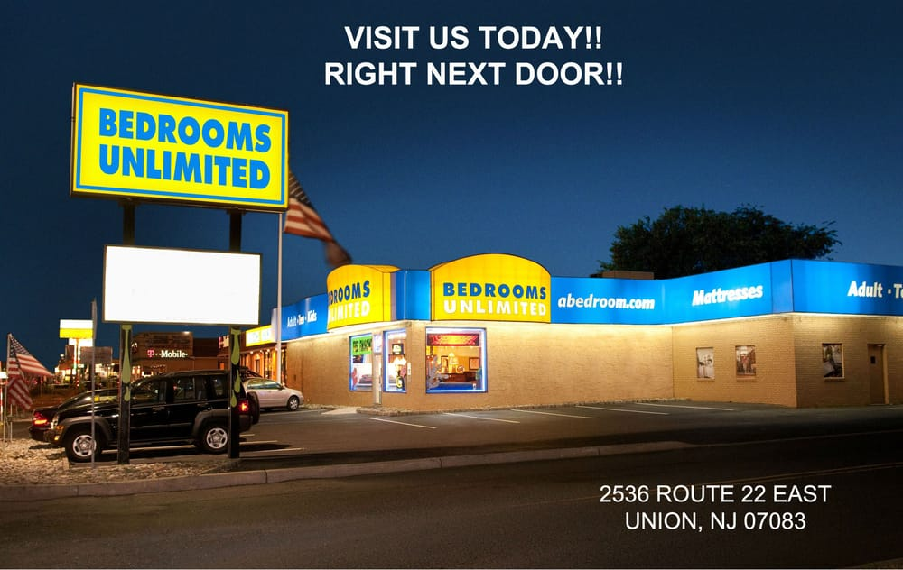 Bedrooms unlimited closed 11 photos furniture shops for Bedroom furniture union nj
