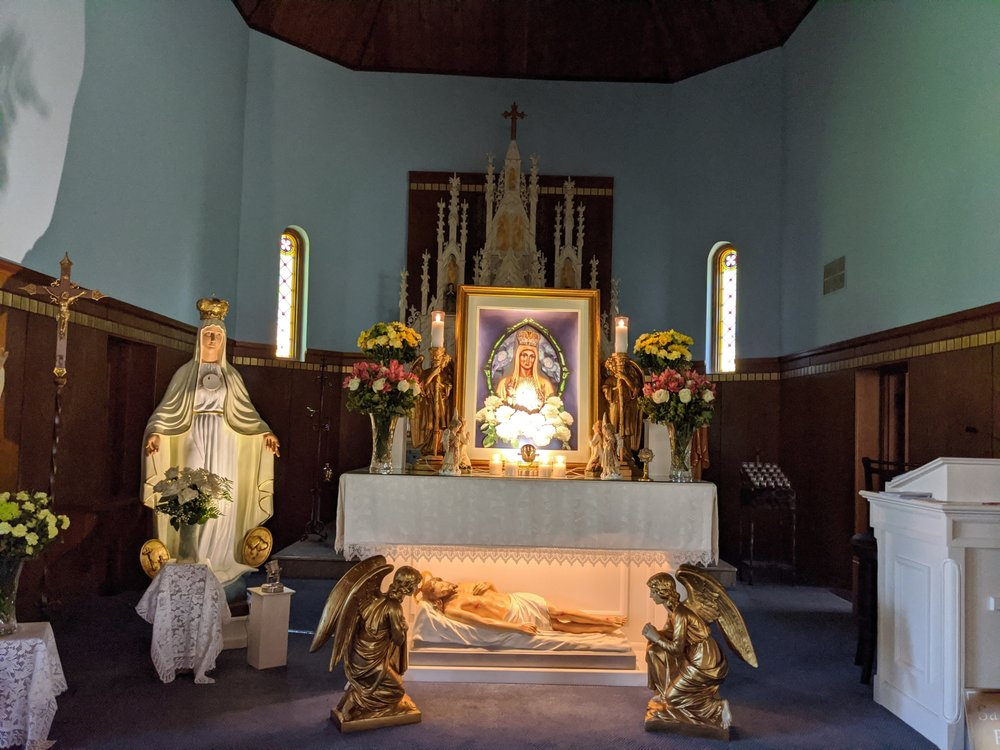 Our Lady Queen of Peace House of Prayer, Minnesota: Sauk Centre Township, MN