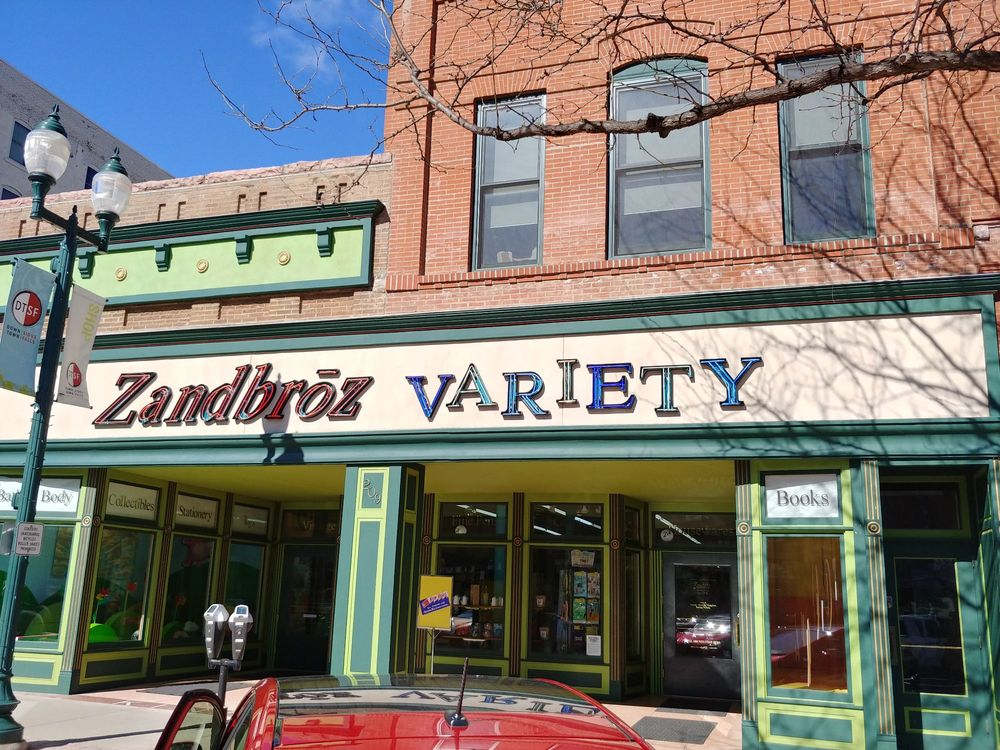 Zandbroz Variety: 209 S Phillips Ave, Sioux Falls, SD