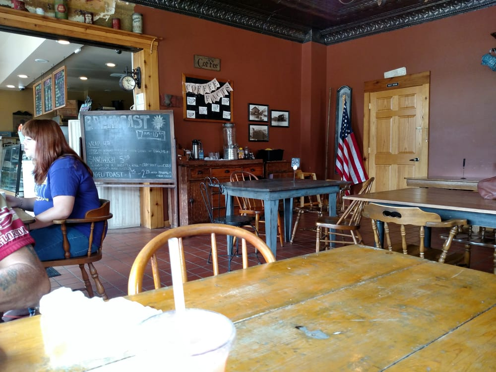 Java House: 1101 1st Ctr Ave, Brodhead, WI