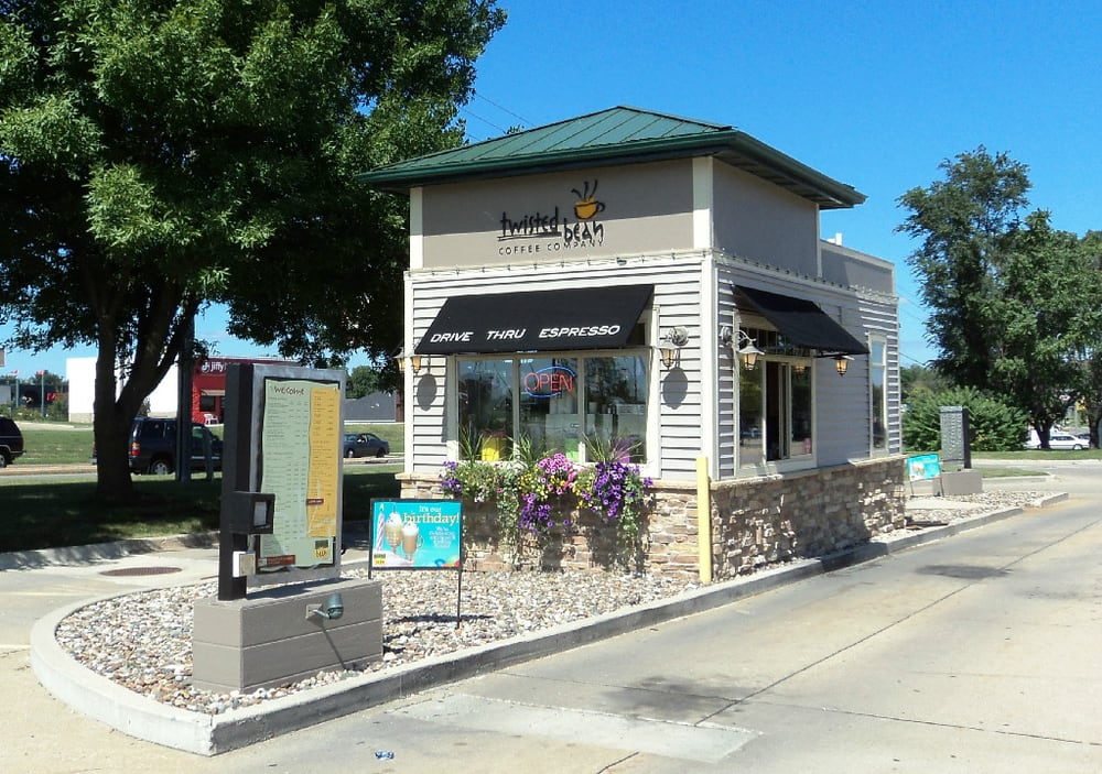 Twisted Bean Coffee Company: 6155 SE 14th St, Des Moines, IA