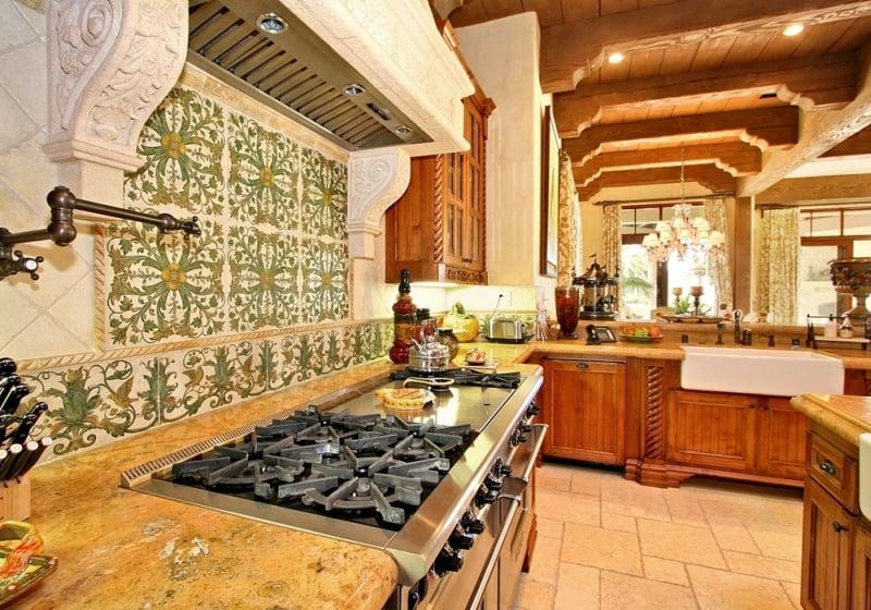 Old world kitchen in san diego design by kern co for Kitchen designer san diego