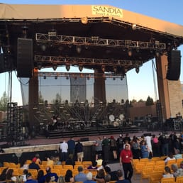 Sandia casino amphitheater address