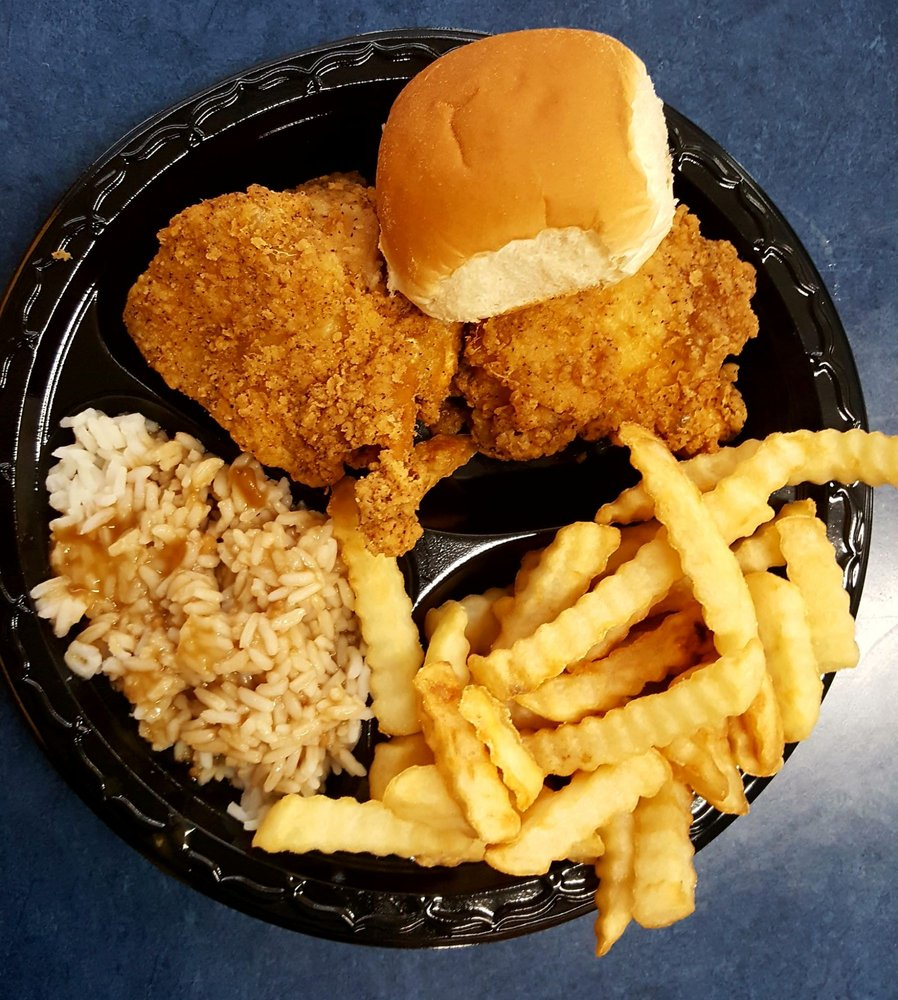 Carter's Fried Chicken: 206 Tripp St, Americus, GA