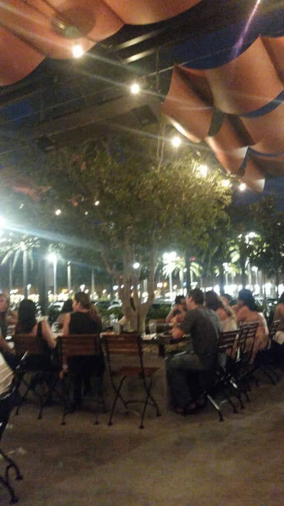 Patio tree is free seating yelp Taps fish house irvine