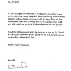 Sample Cover Letter First Direct Lending Irvine