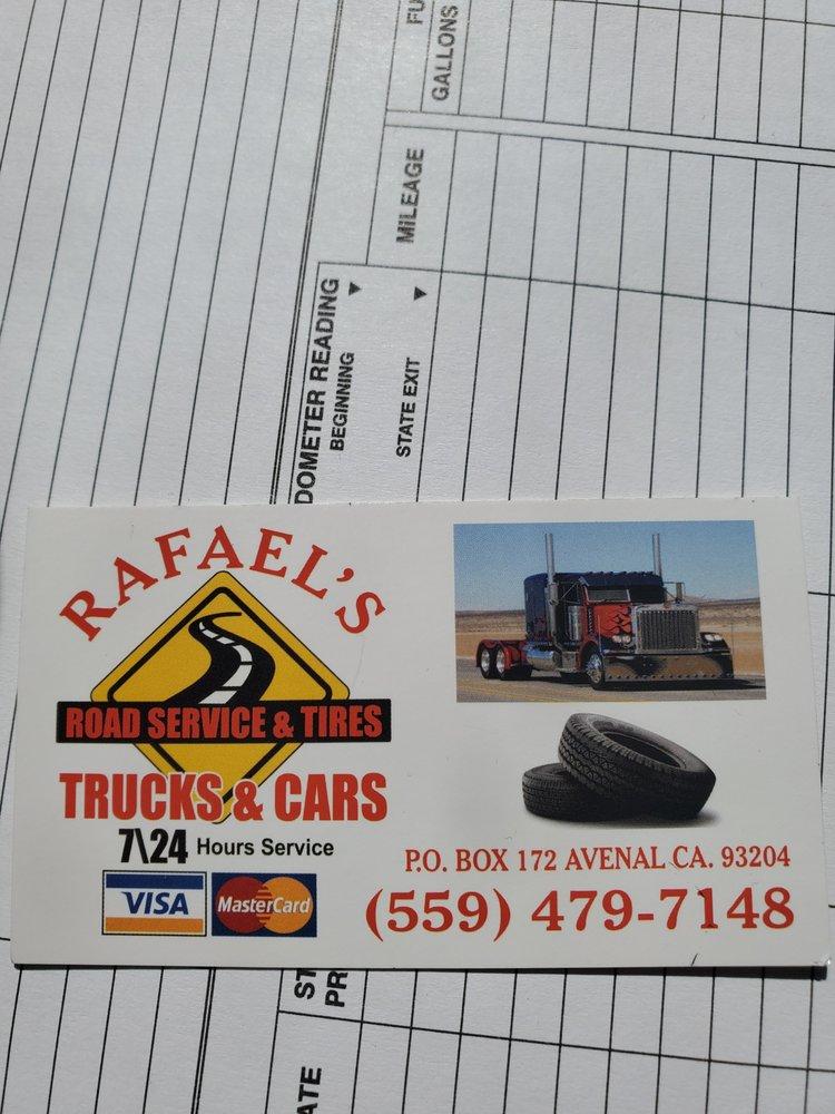 Rafael's Road Servece And Tires: CA, CA