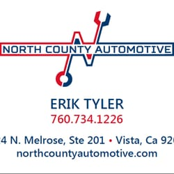 North county automotive 16 reviews auto repair 1124 n melrose photo of north county automotive vista ca united states the business card reheart Image collections