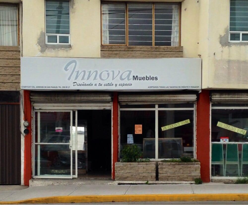Innova Muebles Furniture Stores Blvd 22 Sur 5157 San Manuel  # Muebles Bulevard