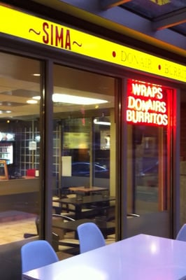 Sima wrap do it yourself food robsonsteet 340 downtown photo of sima wrap vancouver bc canada sima wrap donair solutioingenieria Image collections