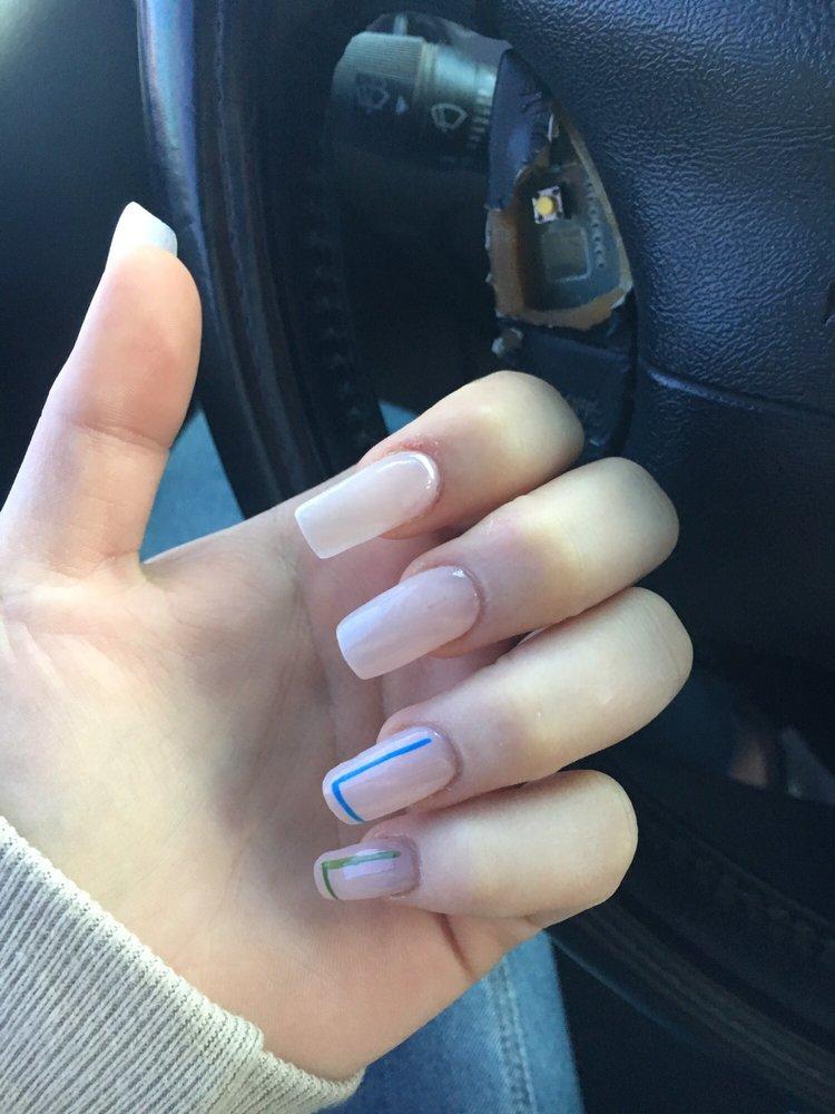 Pretty simple acrylic nails! - Yelp