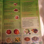 Menu Cover Photo Of Eastern Chinese Restaurant Ladysmith Wi United States