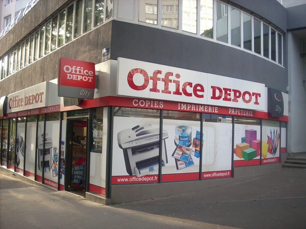 Office depot office equipment 213 rue de belleville mairie des lilas t l graphe paris - Office depot rue de belleville ...
