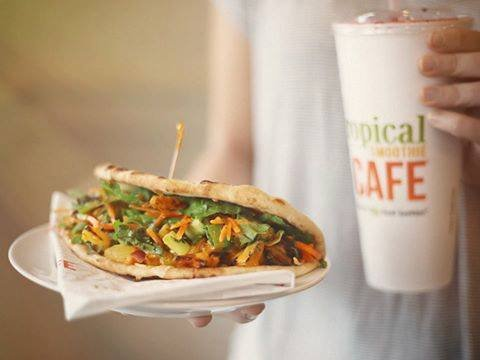 Tropical Smoothie Cafe: 10260 Baltimore Ave, College Park, MD
