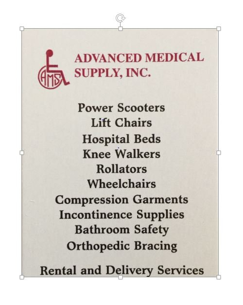 Advanced Medical Supply: 4840 W Broad St, Columbus, OH