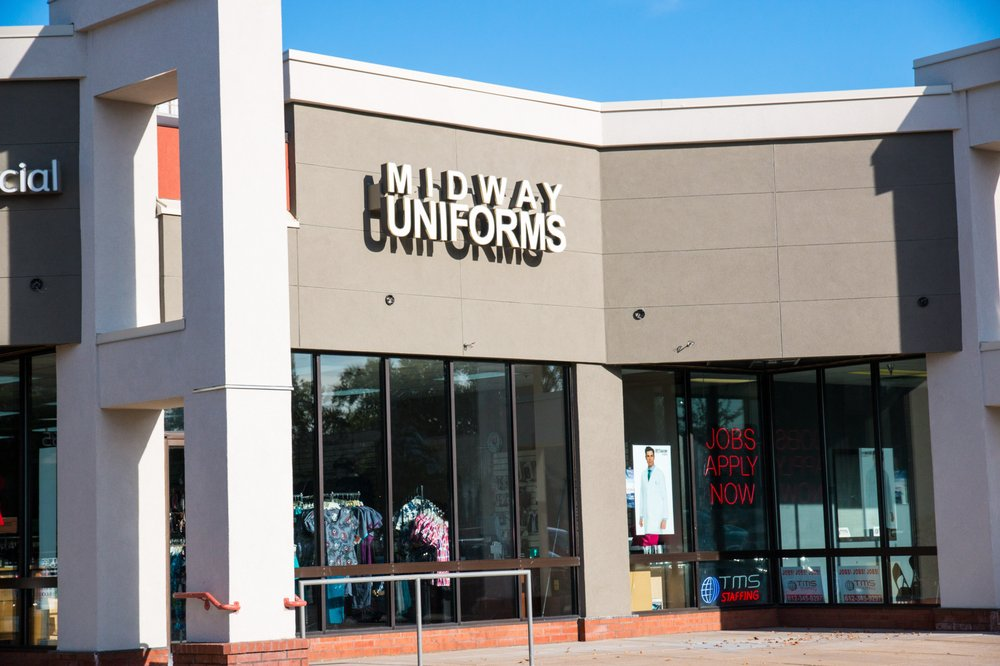 Midway Uniforms: 8567 Lyndale Ave, Bloomington, MN