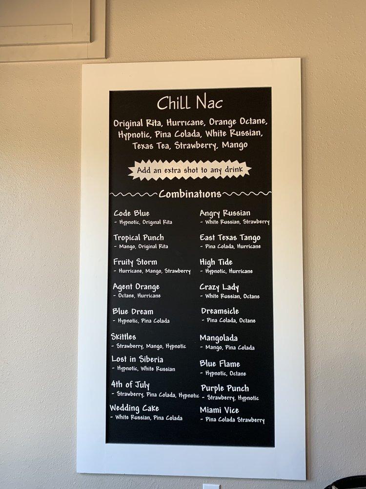 Chill Nac: 203 N University Dr, Nacogdoches, TX
