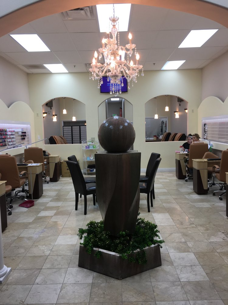 Remodeled with all new nail tables and spa pedicure chairs for A cut above salon las vegas