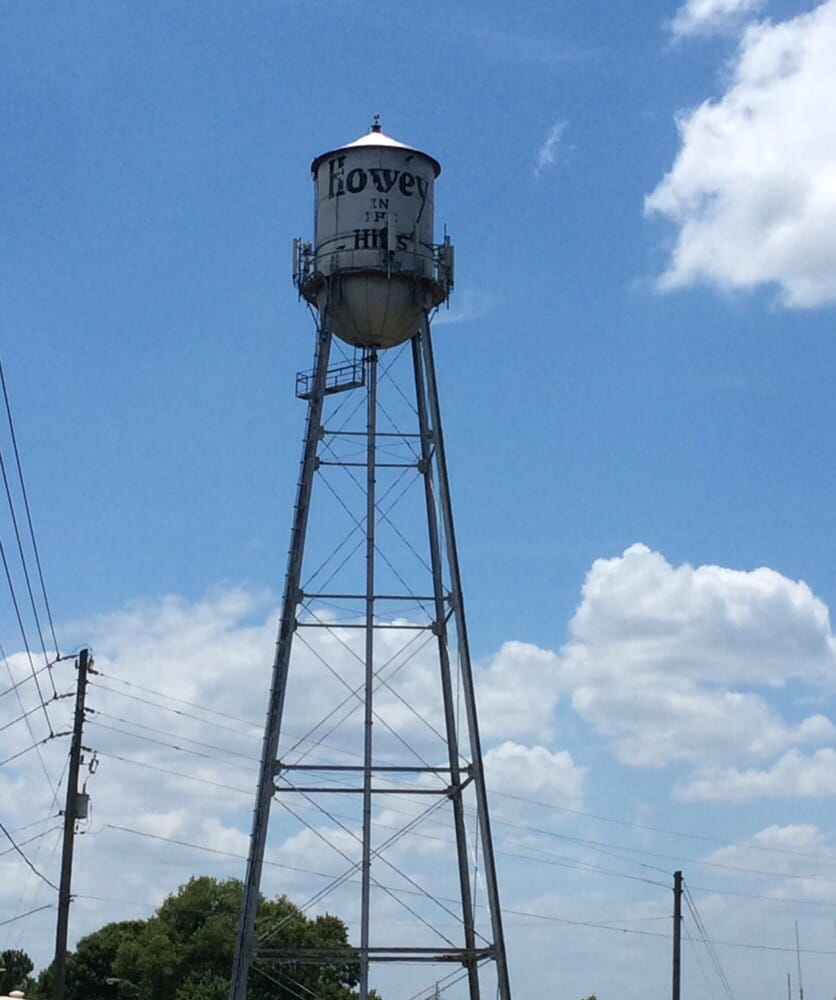 Howey in the Hills Water Tower: 398 West Central Ave, Howey-in-the-Hills, FL