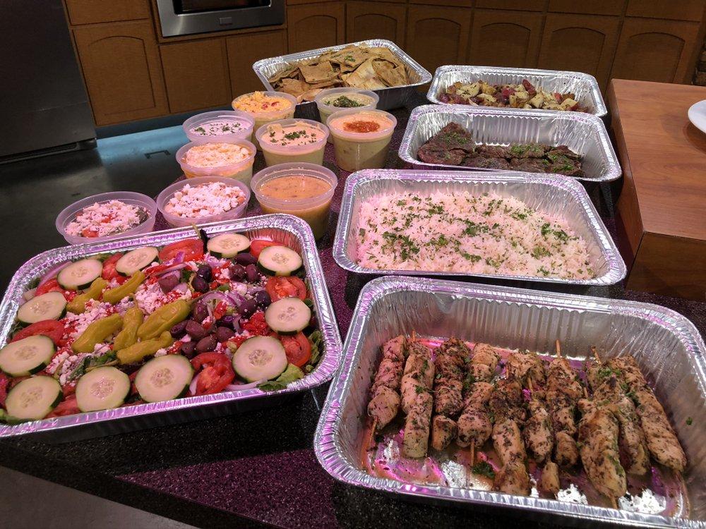 Food from Taziki's Mediterranean Cafe - Edmond