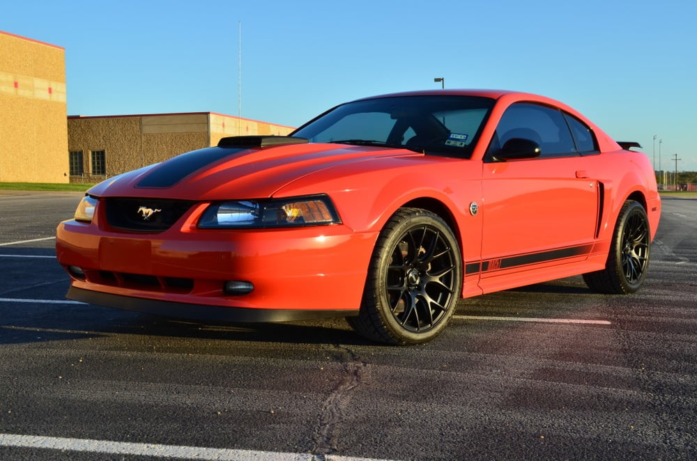 2004 Mustang Mach 1 Competition Orange Devil In The