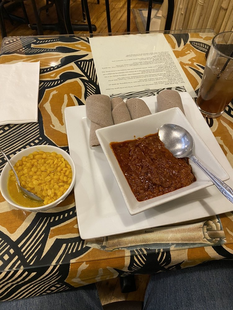 Queen of Sheba Ethiopian Cuisine: 621 W Mallon Ave, Spokane, WA